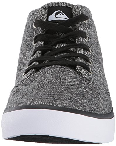 Quiksilver Men's Shorebreak Mid Skateboarding Shoe Grey/Black/White 8mMUqJbLGP