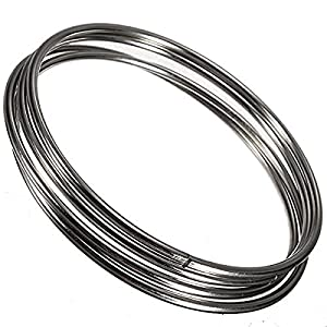 Cooplay Chinese Linking Rings Magic Stage Trick 10cm Set of 4 Stainless Steel For kids