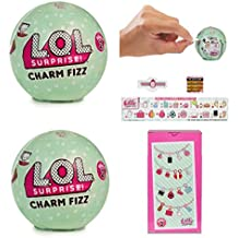Set of 2: L.O.L. Surprise Charm Fizz Ball SERIES 2
