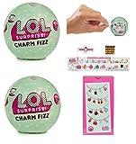 (US) Set of 2: L.O.L. Surprise Charm Fizz Ball SERIES 2