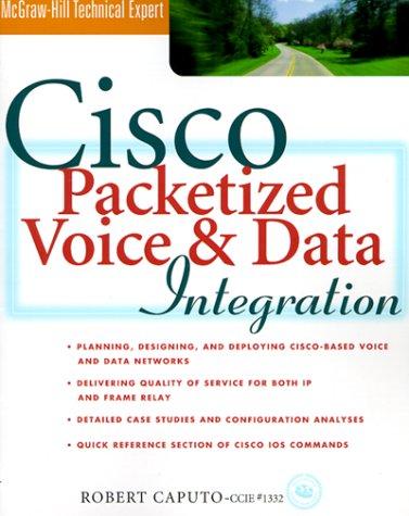 Cisco Packetized Voice & Data Integration: Robert Caputo