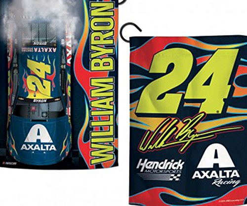 Nascar Garden Flag - William Byron Two Sided Garden Flag
