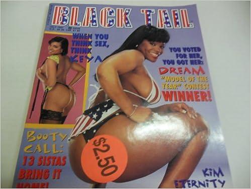 Black Tail Mens Magazine Kim Eternity Keya July 1997 Black Tail Pub Amazon Com Books