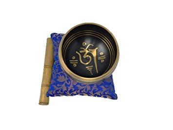 Buddha4all juego de cuenco tibetano para cantar, cuenco de ...