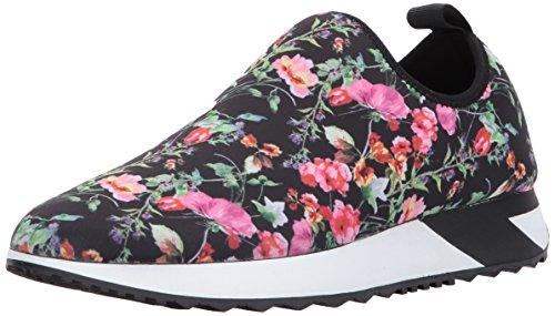 Steve Madden Women's Speed Fashion Sneaker, Floral, 8 M US]()