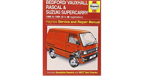 bedford rascal suzuki supercarry service and repair manual haynes rh amazon com Suzuki Super Carry Van Engine 10 St Suzuki Carry Van