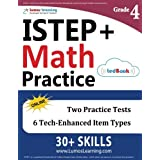 ISTEP+ Test Prep: 4th Grade Math Practice Workbook and Full-length Online Assessments: Indiana Study Guide
