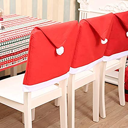 Amazon Com Chair Cover Home Decoration Chair Covers Santa