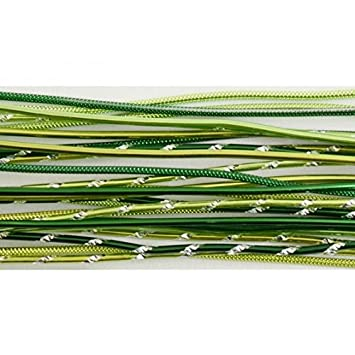 Vaessen Creative Alu Deco Aludraht Grün 40 Cm 27 Stück