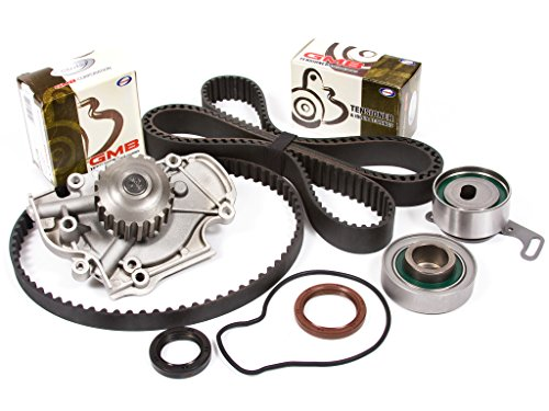 Evergreen TBK187WPT Fits 90-97 Isuzu Honda Accord Odyssey 2.2L SOHC F22A F22B Timing Belt Kit Water Pump