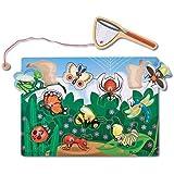 Magnetic Bug Catching Game + FREE Melissa & Doug Scratch Art Mini-Pad Bundle [37792]