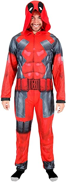Briefly Stated Deadpool - Disfraz de Pijama con Capucha para ...