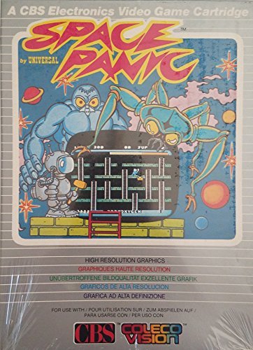 Space Panic - ColecoVision (CBS Electronics International Verison)