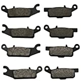 2007-2015 Yamaha Grizzly 700 YFM700 4x4 Auto EPS Front & Rear Brake Pads