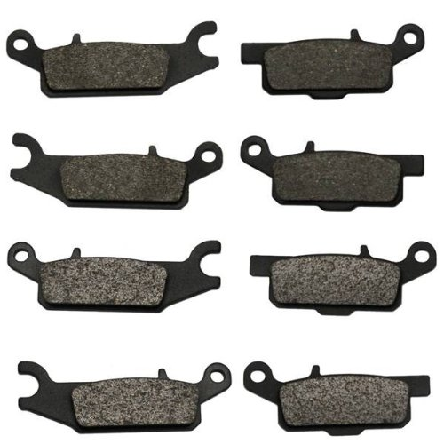 2008-2015 Yamaha Grizzly 700 YFM700 Front & Rear Brake Pads (2008 Yamaha Grizzly)