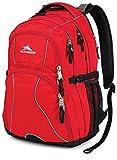 High Sierra Swerve Backpack Backpack Crimson/Black One Size