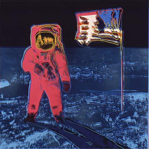 Berkin Arts Andy Warhol Giclee Art Paper Print Art Works Paintings Poster Reproduction(Moonwalk) (Andy Warhol Best Work)