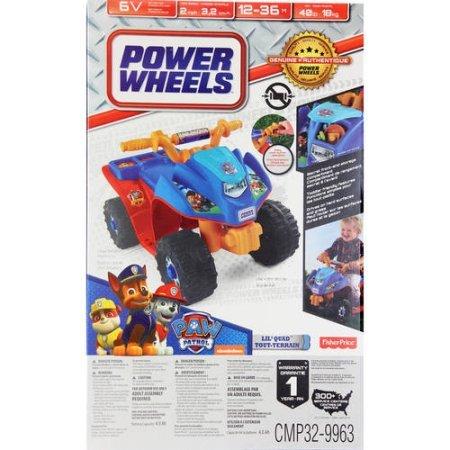 Fisher-Price-Power-Wheels-Nickelodeon-PAW-Patrol-Lil-Quad-PAW-Patrol-colors-graphics