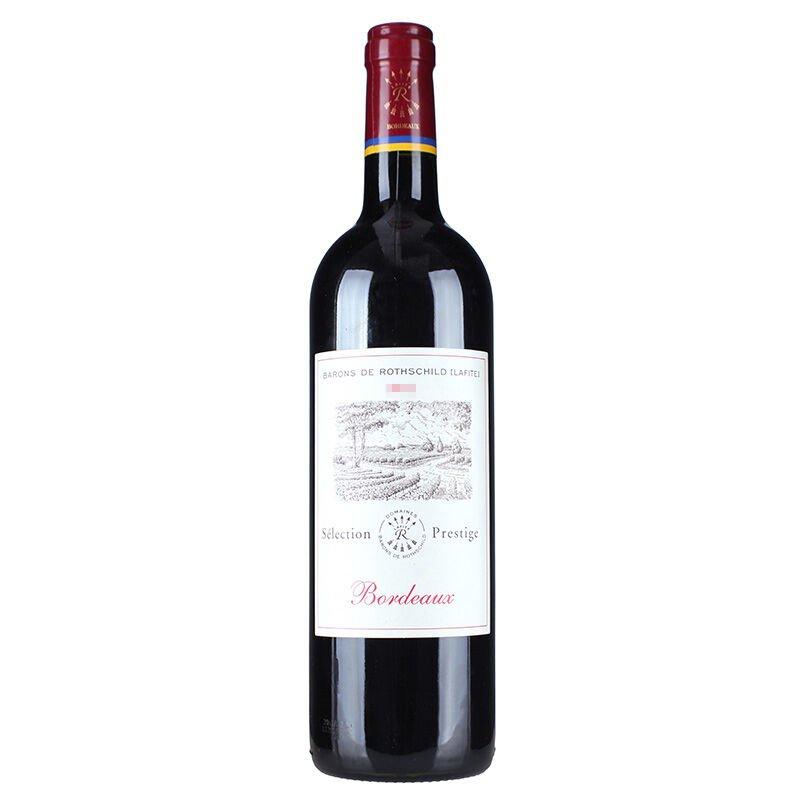 拉菲罗斯柴尔德 尚品波尔多干红葡萄酒 六支木箱装 750ml*6(ASC)