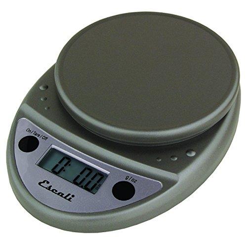 Escali Primo P115M Digital Kitchen Food Scale-Metallic (Food Escali Primo Scale)