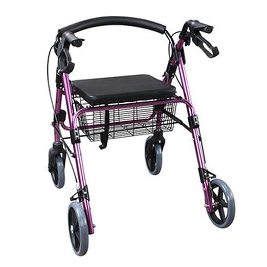 Accesorios para andadores con ruedas Walker Plegable Carrito De ...