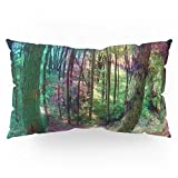 Society6 Forest Love II Pillow Sham King (20'' x 36'') Set of 2