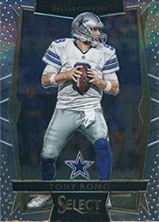 Amazon.com  2016 Panini Select  23 Tony Romo Dallas Cowboys Football ... afb91b6b1