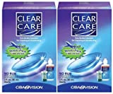 Clear Care Cleaning & Disinfection Solution-3 oz,Travel Pack, 2 pack