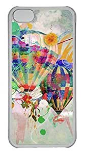 Apple iphone 5s Case - Graffiti Hot Air Balloon 2 Funny Lovely Best Cool Customize iphone 5s Cover