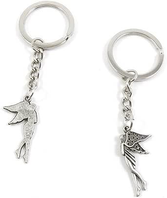 Fashion Jewelry Keyring Keychain Door Car Key Tag Ring Chain C3MJ5 Elf Fairy