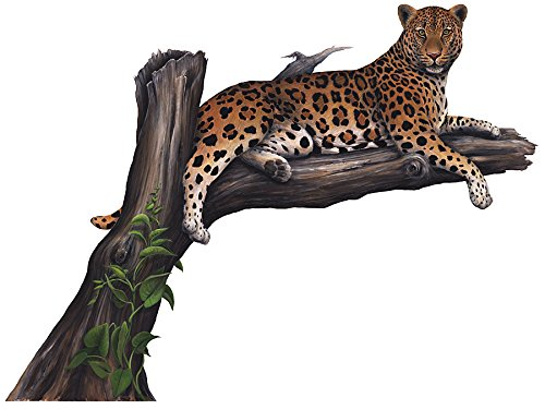 (Walls of the Wild Leopard Wall Mural)