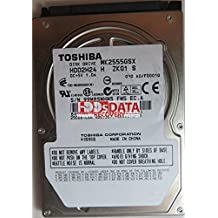 TOSHIBA MK2555GSX HDD2H24 H ZK01 S PCB G002439-0A, 250 GB