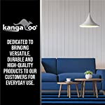 Kangaroo Brands Original Area Rug Pad Gripper for Hard Floors, Durable Construction Pads, Helps Reduce Bunching, Thick Cushion, Available in Many Sizes