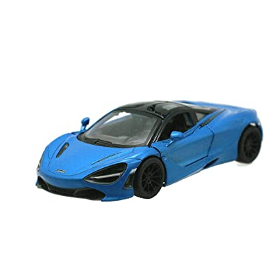 Kinsmart McLaren 720s Blue 1:36 DieCast Model Toy Car Collectible Hobby Super Sport Car Collection: Toys & Games