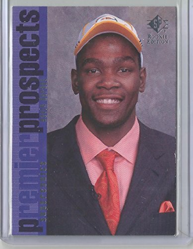 2007-08 Upper Deck SP Rookie Edition Basketball Kevin Durant Rookie Card # 106