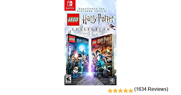 LEGO Harry Potter Collection for Nintendo Switch USA: Amazon.es ...