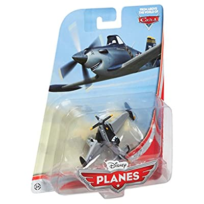 Disney PLANES 1:55 Die Cast Plane Navy Dusty Crophopper [Jolly Wrenches]: Toys & Games