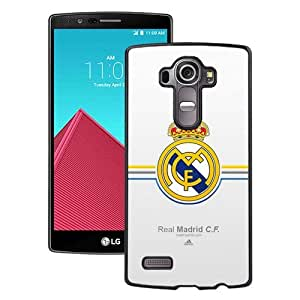 Fashionabe LG G4 Case ,Popular And Unique Designed Case With Real Madrid Black LG G4 Cover Phone Case