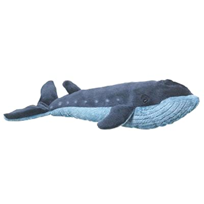 Wildlife Artists Whale Stuffed Animal Plush Toy, Blue: Toys & Games