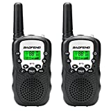 BAOFENG BF-T3 3KM 22-Channel FRS/GMRS Two Way Radio Child Walkie Talkie(Pack of 2 black)