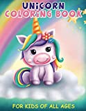 Unicorn Coloring Book: For Kids Of All Ages: Big Simple Pictures Perfect For Beginners!