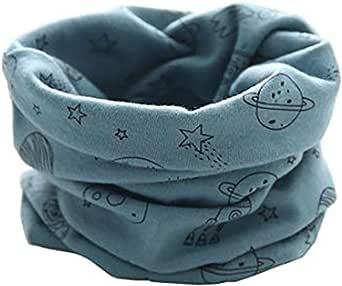 Boomly Bebé Pañuelos de Cuello De Cuello Collar Invierno Bufandas O Anillo Cuello Chal Para Niño Y Niña, Niños