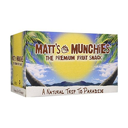 Matt's Munchies Mango Organic Non-GMO Peelable Fruit Snack 12 Pack Caddy (1 Ounce) ()