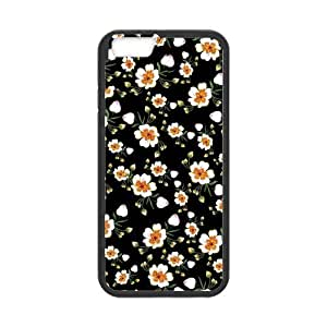 Canting_Good,Retro Floral Daisy, Custom Case for iPhone6 4.7 (Laser Technology)