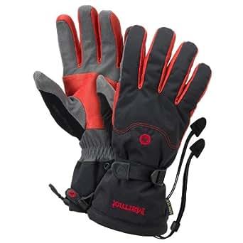 Marmot Randonnee Glove - Men's, Black/Team Red, S
