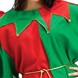 FantastCostumes Mens Christmas Elf Costumes Adult Fancy Dress Holiday