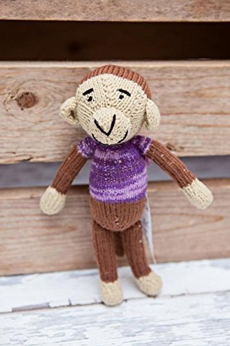 Monkey (Shoko) Shamwari | Kids Knitted Stuffed Animals