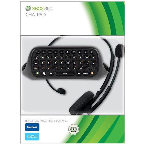 Messenger Kit For Xbox 360 - Black Xbox 360 Keyboard
