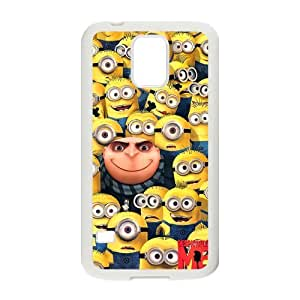 WXSTAR Fashion Despicable Me Custom Case for Samsung Galaxy S5 (Laser Technology)