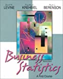 img - for Business Statistics: A First Course (2nd Edition) book / textbook / text book